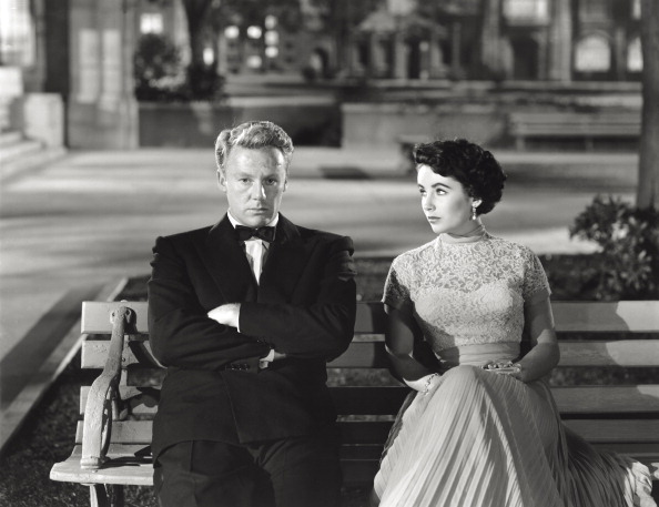 Van Johnson And Elizabeth Taylor