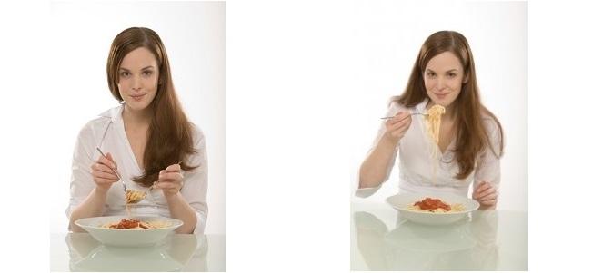 Modul corect de a mânca spaghetti