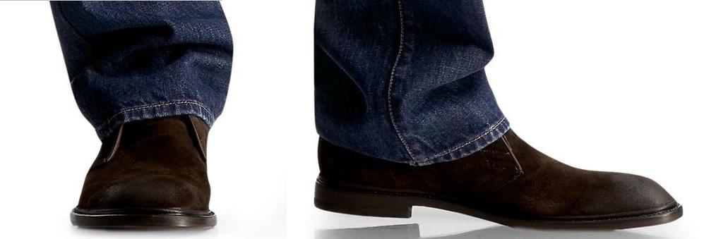 lungimea jeansilor