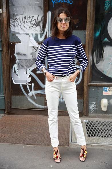 3.pantaloni albi