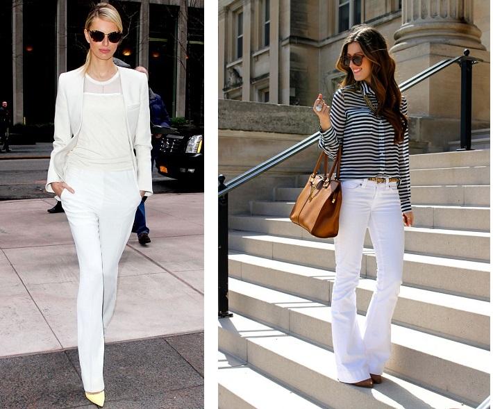 4.1.pantaloni albi