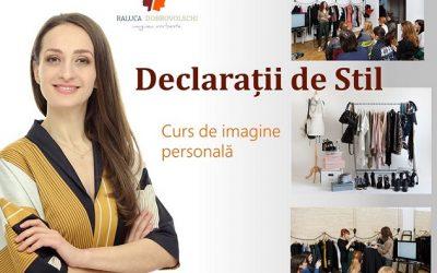 Declarații de Stil – Curs de imagine personală