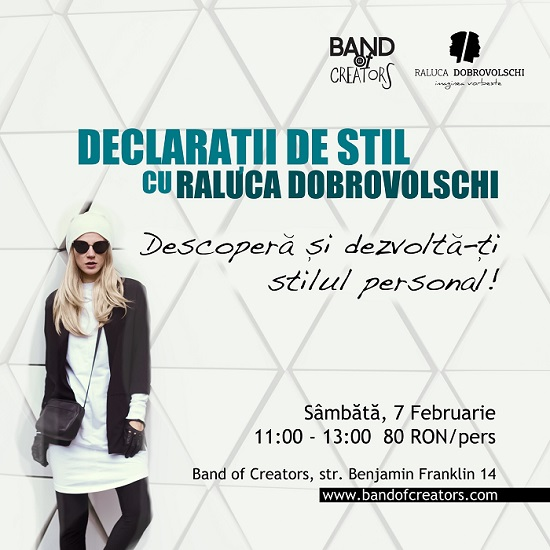 Declarații de Stil workshop @ Band of Creators