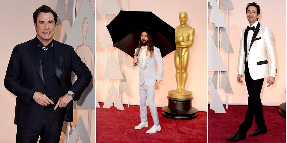 John Travolta, Jared Leto,Adrien Brody