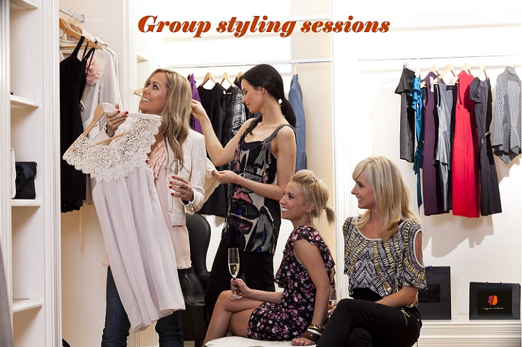 NEW!  Group Styling Sessions