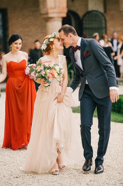 Bride & Groom wedding stylist