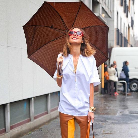 tinuta ideala pentru o zi ploioasa de vara