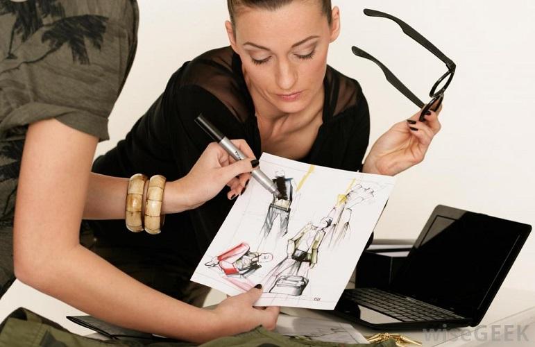 Profesiile din industria modei