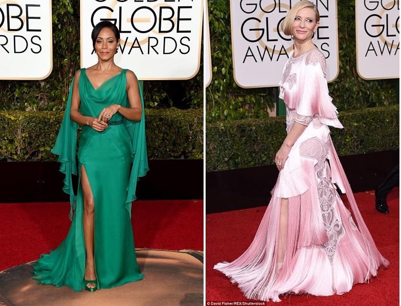 Jada-Pinkett-Smith și Cate Blanchett_Golden Globes_2016
