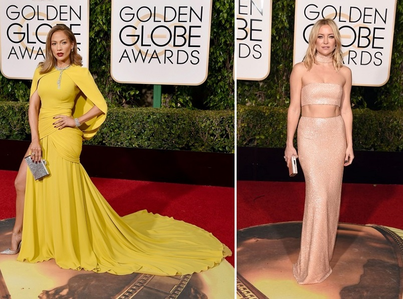 Jennifer Lopez și Kate Hudson_Golden Globes 2016